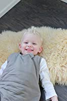 2.5 Tog 0-6 Months, Clay KYTE BABY Unisex Soft Bamboo Rayon Sleeping Bag for Babies and Toddlers