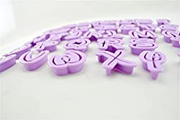 HomeyHouse® Set of 36pcs DIY Letter Number Cake Mould Fondant Sugarcraft Cookie Plunger Cutter Mold Decorating Tools