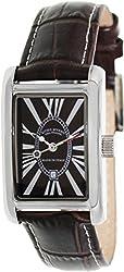Ritmo Mundo Men's 611/3.BROWN Brown Leather Analog Quartz Watch with Brown Dial