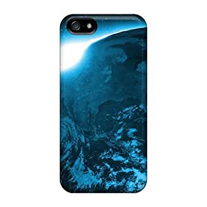 High-quality Durability For Iphone 5C Phone Case Cover (sunrise Over Planet)