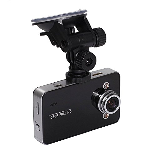 Parit Dash Cam - 2.7 inch LCD Full HD 1080P Car Camera Video Recorder Dash Cam DVR with Night Vision, Motion Detection, G-Sensor