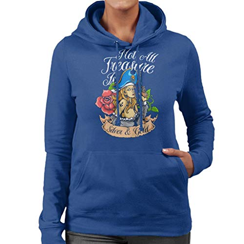 Sweatshirt Silver Hooded Is Not Blue Women's Gold And Royal Pirate All Teasure RzqqwpaZ