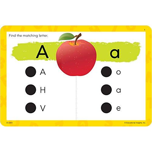 Amazon.com: Educational Insights Hot Dots Jr. The Alphabet Card ...