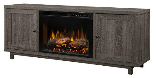 Cheap DIMPLEX Jesse Electric Fireplace One Size Iron Mountain Grey Black Friday & Cyber Monday 2019