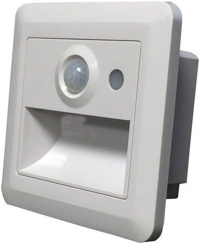 Morris 73002 LED Emergency Light, Adjustable Optics, 120/277V, 4-1/2-inch x 4-1/2-inch x 2-1/2-inch