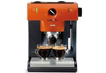 Solac CE4500, Naranja, 950/1150 W, 230 MB/s, 50 Hz - Máquina de café: Amazon.es: Hogar