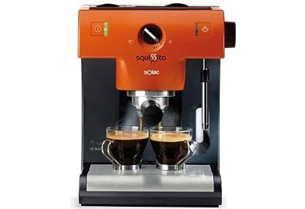 Caractéristiques De SOLAC Squissita CE 4500 Machine à Expresso Café Moulu  Et Dosettes Pression 18 Bars Manuelle