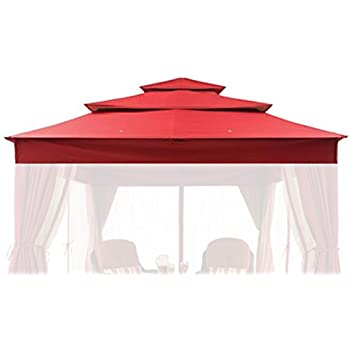 Replacement canopy for better homes gardens archer ridge 3 tier 12 39 x 10 39 gazebo Better homes and gardens gazebo