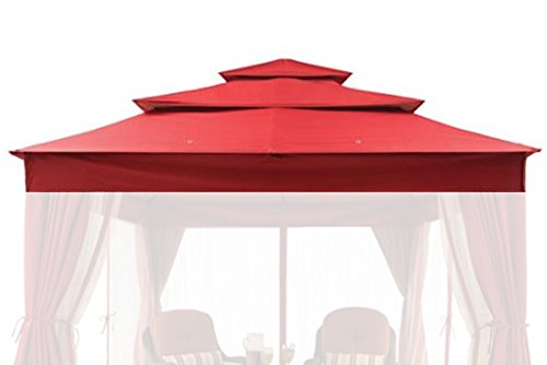 The Outdoor Patio Store Replacement Canopy for Better Homes & Gardens Archer Ridge 3-Tier 12' x 10' Gazebo