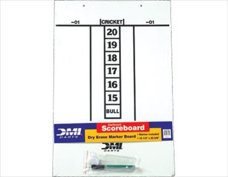 CueStix GADESB Darts Dry Erase Score Board, by Cuestix