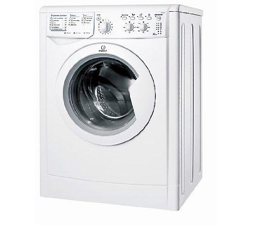 Indesit IWDC 6125 (FR) Autonome Charge avant B Blanc - Machines à laver avec sèche linge (Charge avant, Autonome, Blanc, Gauche, boutons, Rotatif, 5 kg)