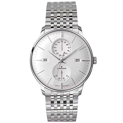 Junghans Meister Agenda 027/4365.44 40.4mm Automatic Silver Steel Bracelet & Case Glass Men's Watch