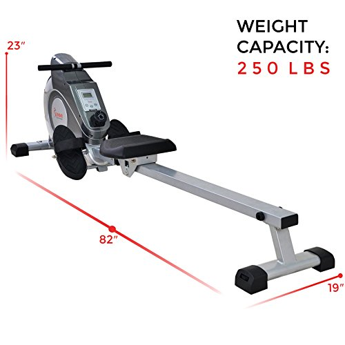 Sunny-Health-Fitness-SF-RW5515-Magnetic-Rowing-Machine-Rower-w-LCD-Monitor