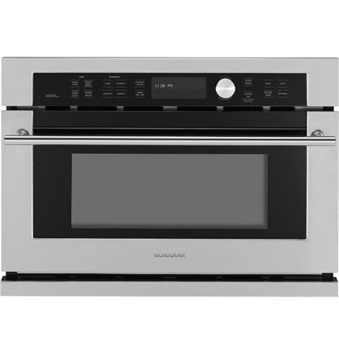 GE Monogram ZSC1001JSS 27' Single Electric Wall Oven and Microwave ZSC1001JSS1