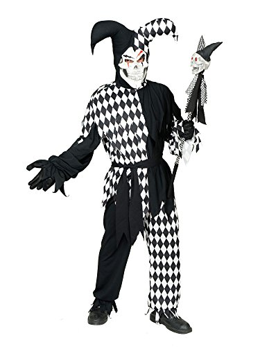 Charades Adult Plus Size Wicked Jester -