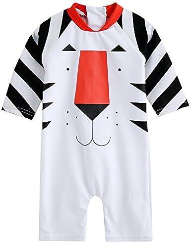 Vaenait Baby 0-24M Baby Boys Swimsuit Rashguard Swimwear Water Tiger C_BSW_036