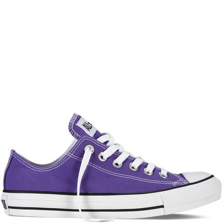 Converse Chuck Taylor All Star Lo Top Electric Purple Mens 8/ Womens 10 ()