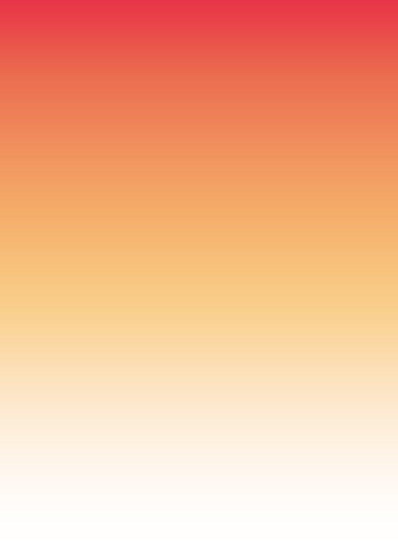 25 Blatt Farbverlaufpapier Sunshine DIN A4