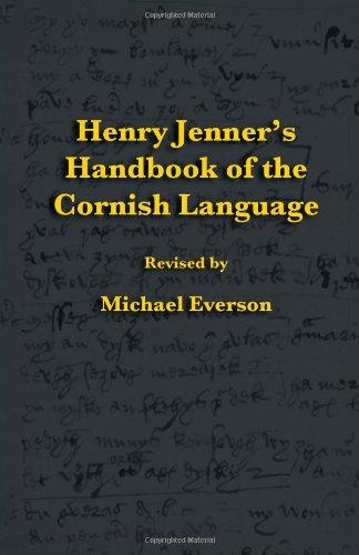 Henry Jenner's Handbook of the Cornish Language