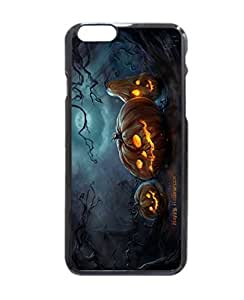 Art Halloween Night Pumpkins Moon Durable Unique Design Hard Back Case Cover For iPhone 6 - 4.7