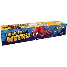 Livro em Metro. Homem-Aranha