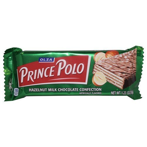 Prince Polo Hazelnut Milk Chocolate 32 bars