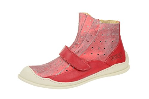 In Ejecteject Rot Rosso Pantofole Ciber Stivaletto Stiefelette Donna A rosso 2014 Sommer ttrwEqxv