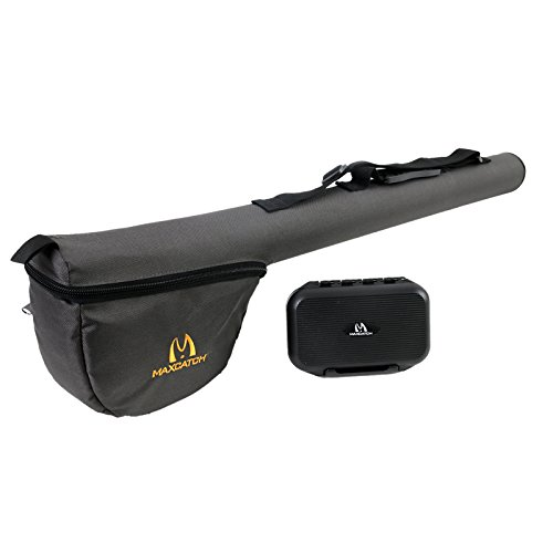 M MAXIMUMCATCH Maxcatch Fly Fishing Rod & Reel Case, Complete Rod Protection, 9' 4pc, (Fly Rod Case)