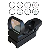 Heavy Duty CQB RED dot sight sighting system Red and Green Illumination with 4 reticle to choose from, Outdoor Stuffs