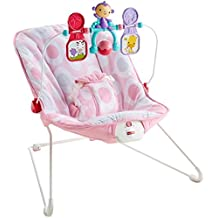 Fisher-Price Baby's Bouncer, Pink Ellipse, One Size