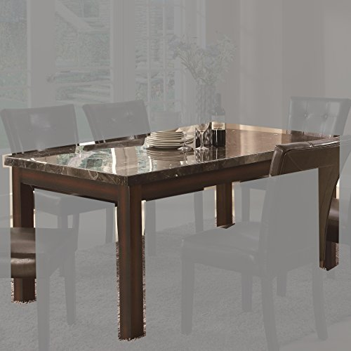 Coaster Home Furnishings 103770 Casual Dining Table, Cappuccino