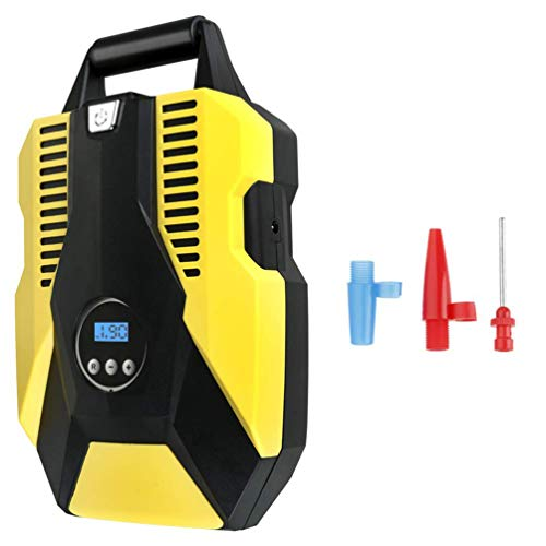 Car Tyre Pump, Digital ABS Air Pump Tool with LED Light for Swimming Ring Basketball Toy Car Bicycle: Amazon.co.uk: Welcome