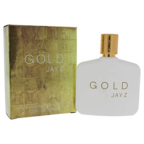 - Jay Z Gold Eau De Toilette Spray for Men, 1 Ounce/30ml