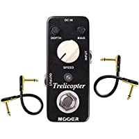 Mooer Trelicopter Tremolo Pedal with 2 Getaria Guitar...
