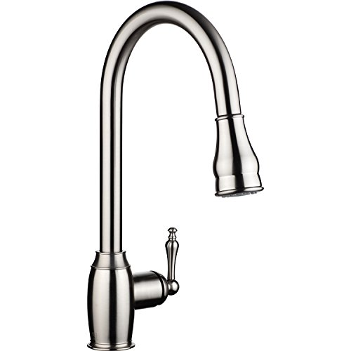 magnetic kitchen faucet ph7 174 we7003 1 brass 360 degree pull kitchen sink 14093