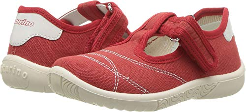 Naturino Baby Girl's Ostuni AW18 (Toddler/Little Kid) Red 27 M (Naturino Red Shoes)