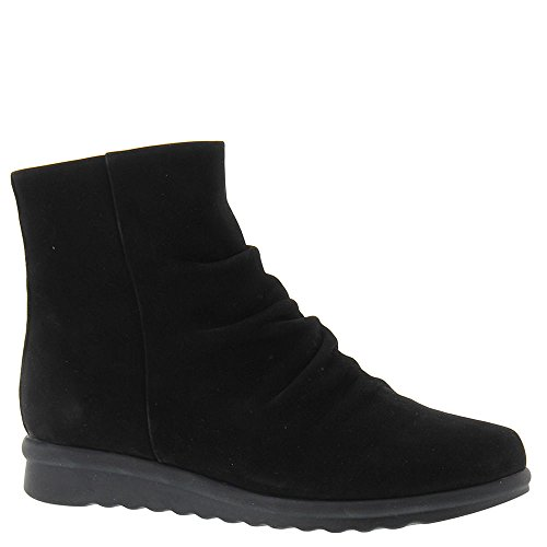 Fashion Vaneli Mid Womens Black Boots Calf Toe Closed Nabuck Dollie dqrYwIZr