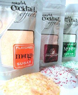 rokz Summer Drink Rimmers -Sugars in Mojito, Pomegranate & Mango (Set of 3)