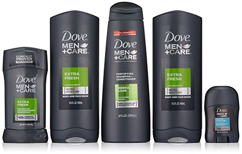 Dove Men+Care National Holiday Gift Pack, Extra Fresh by PERSONAL WASH MIXED BRAND