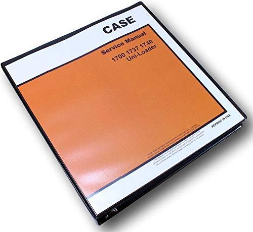 - Case 1740 Uni-Loader Skid Steer Service Technical Manual Repair Shop Binder