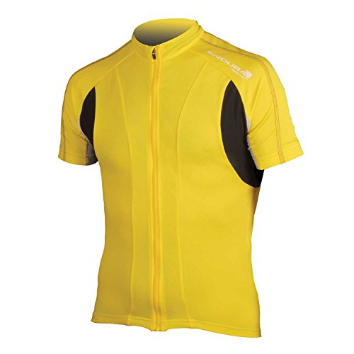 Endura FS260-Pro Short Sleeve Cycling Jersey II Yellow, X-Large