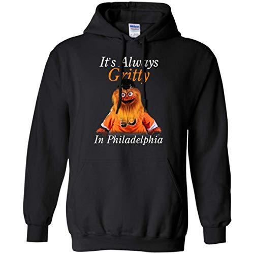 It's Always Gritty in Philadelphia T-Shirt Hoodies Hockey Mascot Sweatshirt