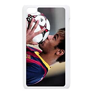 Personalized Durable Cases Ipod Touch 4 White Phone Case Vzhex Neymar Protection Cover