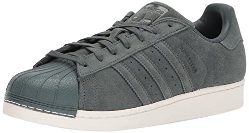 adidas Originals Men's Superstar Foundation Casual Sneaker, Green Night/Green Night/Green Night, 6 D(M) US