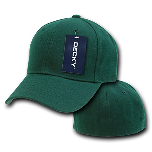 Fitted Hombre para Decky Gorra verde 6X70Ox