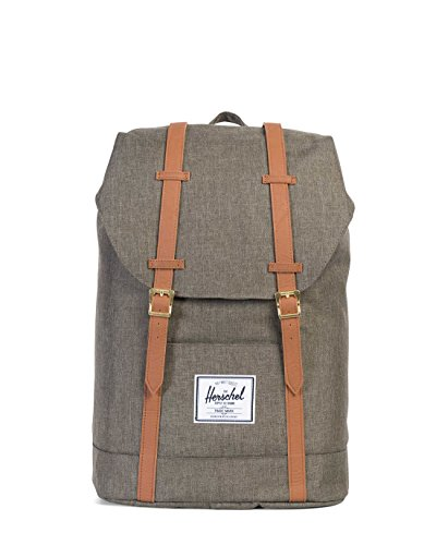 Tan Leather Backpack - 6
