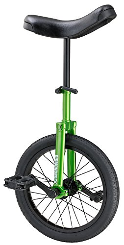 "Diamondback Bicycles CX Wheel Unicycle, Green, 16""/One Size"