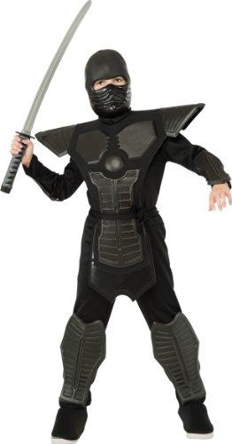 Deluxe Ninja Costume, Black, Medium (Women Haloween Costumes)