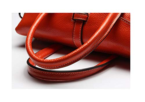 Messenger Mano A Borse 01 Con Tracolla colore Orange Ly Pelle Donna Bag Orange Bgqpx