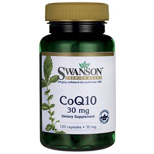 Swanson Coq10 30 30 Milligrams 120 Capsules ()